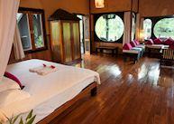 Pond View room at Inle Princess Resort, Inle Lake