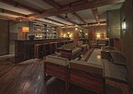 The bar at Sanctum Inle Resort, Inle Lake