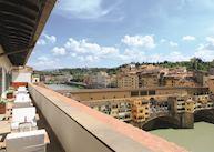View from Ponte Vecchio suite, Portrait Firenze, Florence