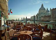 Riva Lounge terrace, Gritti Palace, Venice