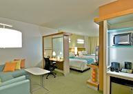 Suite living area, Springhill Suites, Fairbanks