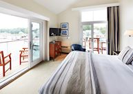 Captain Suite, The Boathouse Waterfront Hotel, Kennebunkport