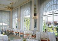 Dining room at the Grand Hotel des Iles Borromees, Stresa