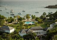 Aerial View, The Inn at English Harbour, Antigua