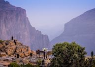 Cliff dining, Anantara Al Jabal Al Akhdar Resort, Jebel Akhdar