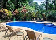Swimming pool at Selva Verde Lodge