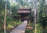 Chalets, Kinabatangan Wetlands Resort, Kinabatangan River