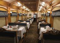 Deccan Odyssey Dining Cabin