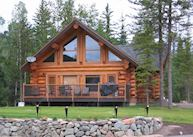 Log Home, Alpine Meadows Resort, near Clearwater
