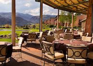 Garden Of The Gods Resort Restaurant Patio View