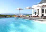 Ocean Eleven Guest House, pool area