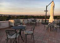 Rooftop deck, Rome Marriott Grand Hotel Flora, Rome