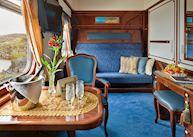 Imperial Suite, Golden Eagle Trans-Siberian Express