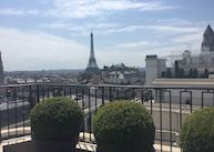View from Four Seasons Hotel George V, Paris