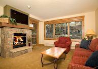 Mountain Thunder Lodge - condo living room