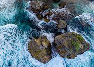 Aerial View, East Coast Barbados