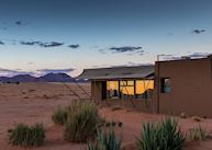 Rooms look out over the dunes, Sossusvlei Lodge