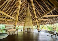 Yoga pavilion at Bawah Island