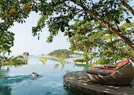 Bawah Island pool