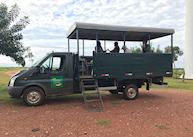 Safari vehicle at Caiman Lodge, Pantanal