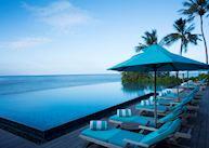 Dhoni pool, Anantara Veli Maldives Resort, Maldive Island