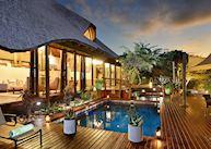 Bayethe Tented Lodge, pool area