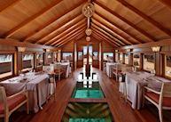 Ba'theli Lounge & Restaurant, Milaidhoo Island Maldives, Maldive Island