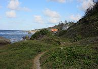 Coastal path from Bathsheba to the Atlantis Hotel