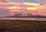 Sunrise over Torres del Paine