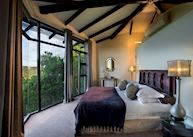Villa Bedroom Area, Tsala Treetop Lodge, Plettenberg Bay