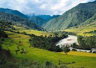 Punakha valley, Six Senses Punakha, Punakha