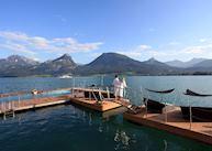 Swimming area, Romantik Hotel Weissen Rossl