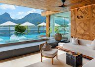 Lounge, Hotel Seevilla