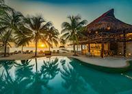 Pool deck, Viceroy Riviera Maya