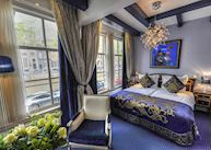 Purple double room