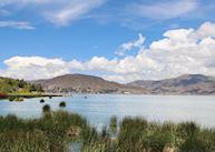 View of Lake Titicaca from Casa Andina Premium Puno