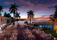 Evening dinner terrace
