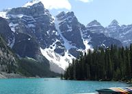 Moraine Lake Lodge, Moraine Lake