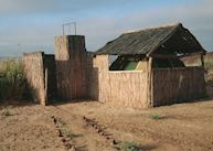 One of the tents at the Kuidas Camp, The Skeleton Coast
