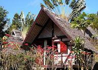 A-frame bungalow, Feon'ny Ala