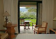 Room with panoramic view and terrace, Machu Picchu Sanctuary Lodge, Machu Picchu