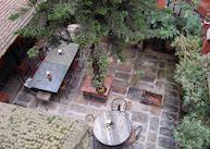 Garden Restaurant, Bhadgaon Guest House, Bhaktapur