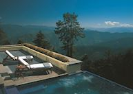 Infinity pool, Wildflower Hall, Shimla, India