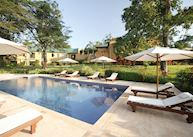 Pool at The Emin Pasha Hotel, Kampala