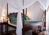 A room at Ibo Island Lodge
