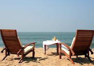 Beach at Neeleshwar Hermitage, Neeleshwar