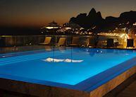 Rooftop pool, Fasano Rio de Janeiro