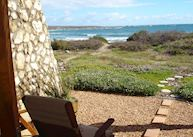 View from room, Paternoster Dune Guest Lodge