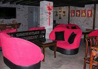 Bar area, Double Happiness Courtyard Hotel, Beijing