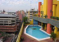 Pool at Hotel Las Margaritas, Asunción